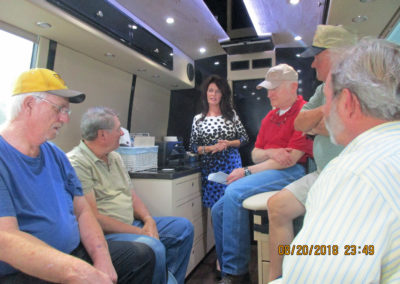 Inside the LCPCCC Mobile Van